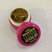 Master glitter GOLD gel 5 ml art.2049