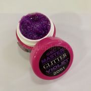 Master glitter VIOLET gel 5 ml art.2051